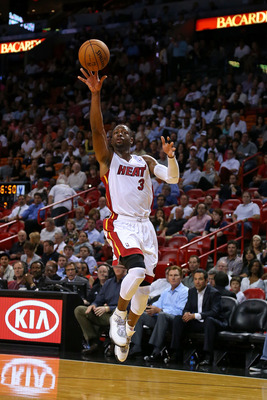 Dwayne Wade's days as a superstar in the NBA aren't over, but could start waning