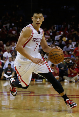 Linsanity feels like it was ages ago as Jeremy Lin suits up in a Houston Rockets uniform