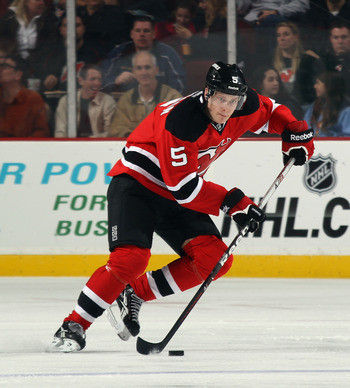 Adam Larsson spent most his time in the NHL last season, but still is not fully developed.