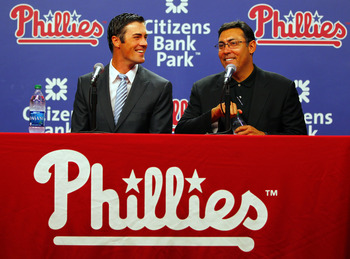 Cole Hamels set the new market for left-handed starters with his six-year, $144 million extension with the Phillies in July.