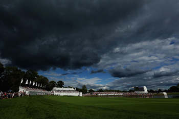 Dark skies didn't prohibit a birdie fest at Crooked Stick.