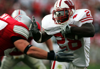 Wisconsin's former RB Anthony Davis helped the Badgers defeat A.J. Hawk and Ohio State two straight seasons.