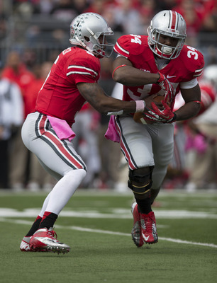 Braxton Miller and Carlos Hyde are giving d-coordinator's nightmares.