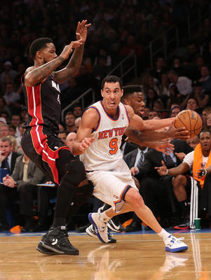 A great point guard in Argentina, Pablo Prigioni looks to be a successful option for the Knicks.
