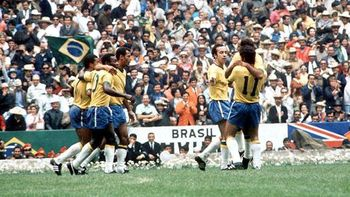 Brazil dominated the 1970 World Cup. http://www.ministryofsoccer.org