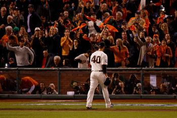 Dave Righetti and the coaching staff was able to fix Madison Bumgarner in a pinch for the World Series.