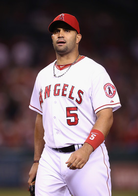 The Angels awarded Pujols with a massive 10-year deal at age 31.