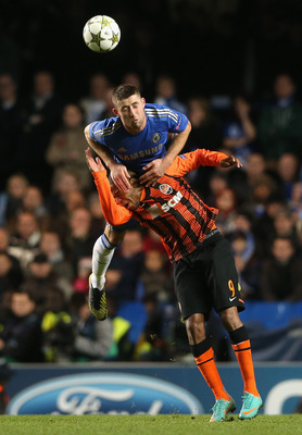 Gary Cahill is a beast in the air for Chelsea and England.