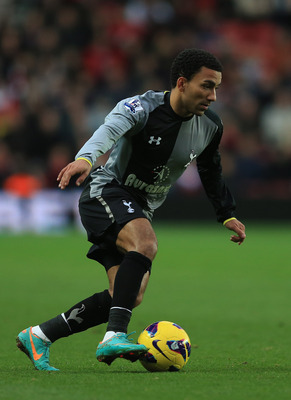 Aaron Lennon's pace and dribbling ability can break down any defense.