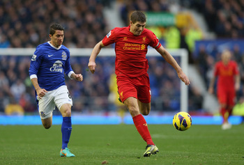 Steven Gerrard would provide some needed experience to a young midfield.