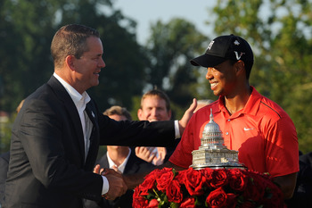 If Tiger Woods keeps winning, golf's big rivalry will remain strong.