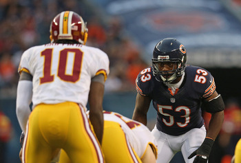 Chicago's defense has created fear and confusion in 2012. (Getty Images)