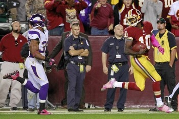 Against the Vikes, Griffin had the last laugh. (US Presswire)