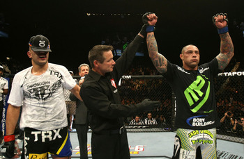 Pictured: Thiago Silva, right. (Photo Credit: UFC/Zuffa)