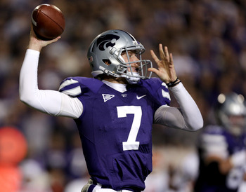 Kansas State quarterback Collin Klein receives plenty of love for leading the Wildcats to a No. 2 ranking.