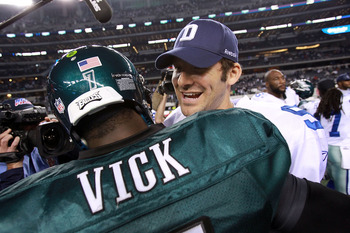 Who steps up in Week 10, Michael Vick or Tony Romo?