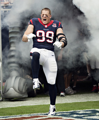 Can J.J. Watt lead the Texans to an upset over the Bears?