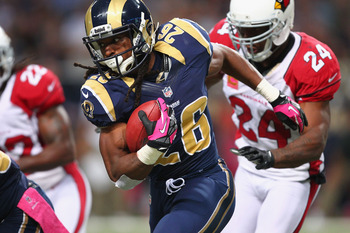 The Rams backfield becoming a time-share will benefit Richardson owners.