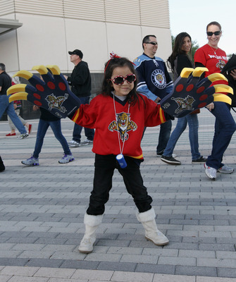 Will fans like this young lady return to Panthers games next season?