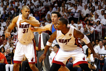 Bosh and Battier isn't the most physical frontline.
