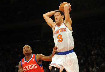 "Pablo Prigioni has made some ""rookie mistakes"" in limited time this season."