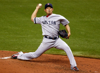 Matsuzaka and his gyro ball couldn't make it in the MLB