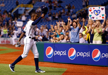 Last season, Upton achieved career highs in home runs and stolen-base percentage.