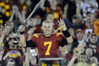 Barkley may be the first Trojan QB since Mike Van Raaphorst to never take a snap in a BCS bowl game.