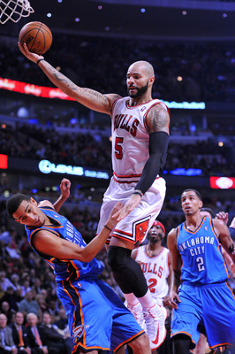 Boozer struggled mightily against the Thunder.