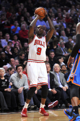 Deng scored in a bevy of ways against OKC.