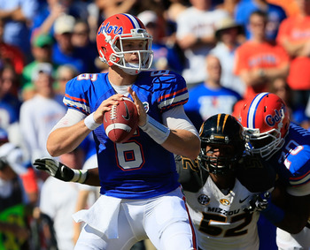 Jeff Driskel gets set to pass during a Nov. 3 game against Missouri