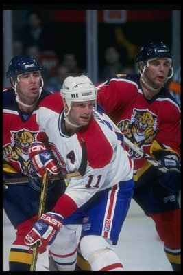 Kirk Muller of the Montreal Canadiens.