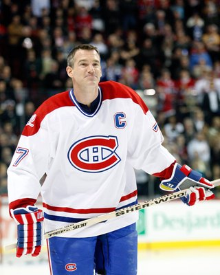 Pierre Turgeon of the Montreal Canadiens.