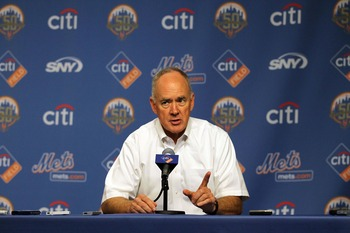 Mets general manager Sandy Alderson has his hands full this offseason.