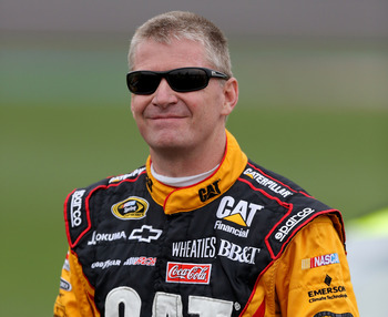 Jeff Burton hasn't had a win in 4 years; and with the Dillon boys waiting in the wings, this could be the 45 years old's last shot at a winner.