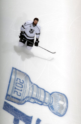 Dustin Penner of the Los Angeles Kings.