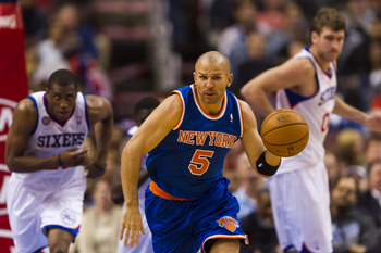 At 39 years old, Jason Kidd is still running hard up and down the court.