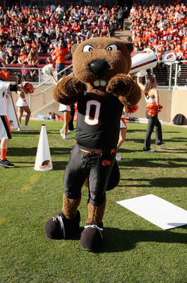 Oregon State does have one of the coolest mascots ever, doesn't it?