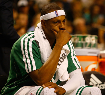 Paul Pierce has struggled from the floor this season.