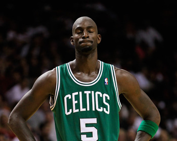 Kevin Garnett might not be happy with his team's record, but his play has been pretty solid.