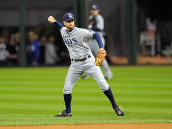Jeff Keppinger put forth a stellar 2012 campaign with the Tampa Bay Rays