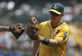 Brandon Inge, who played his 2012 season with the Detroit Tigers and Oakland A's