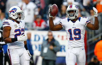 Raise your arms if you've been the Bills most consistent receiver.