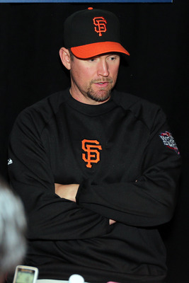 2010 hero Aubrey Huff won't be back next year.