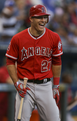 Mike Trout, your 2012 AL Rookie of the Year