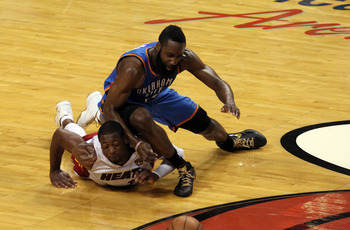 In the Finals, Harden never quite got his footing.