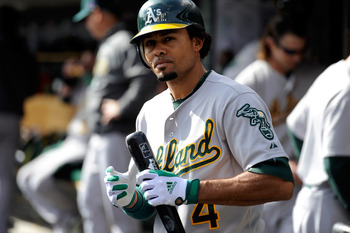 Coco Crisp hit 11 home runs in 2012; his highest total since 2005.