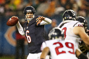 The Bears hope Jay Cutler can play against the 49ers.