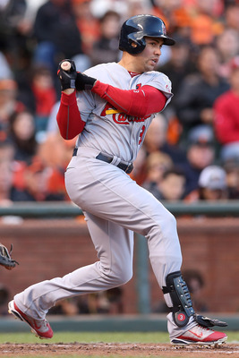 Beltran was an All-Star in his first year with the Cards.