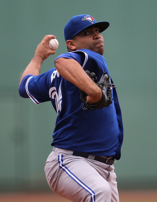 The Blue Jays' pitching staff struggled in 2012.